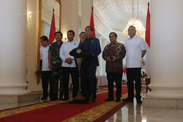 Indonesia not afraid of terrorism, Jokowi says