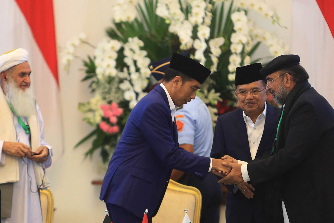 President Jokowi opens trilateral ulema meeting at BogorPalace