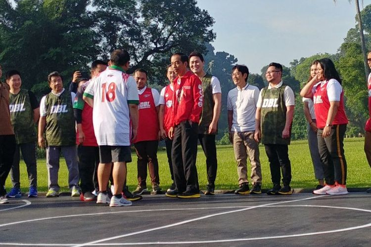 Jokowi's team loses 18-2 in basketball game with DBL players