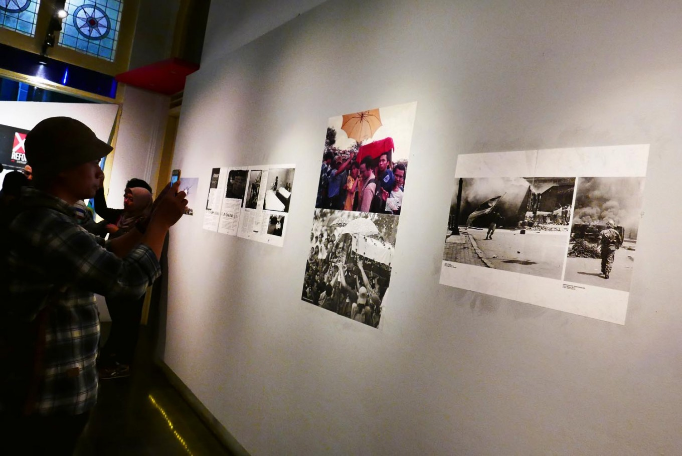 Exhibition reflects on 20 years since Indonesia's reformation
