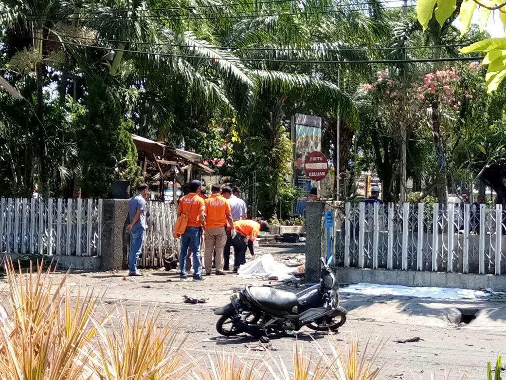 'We forgive them', says son of Surabaya church bombing victim