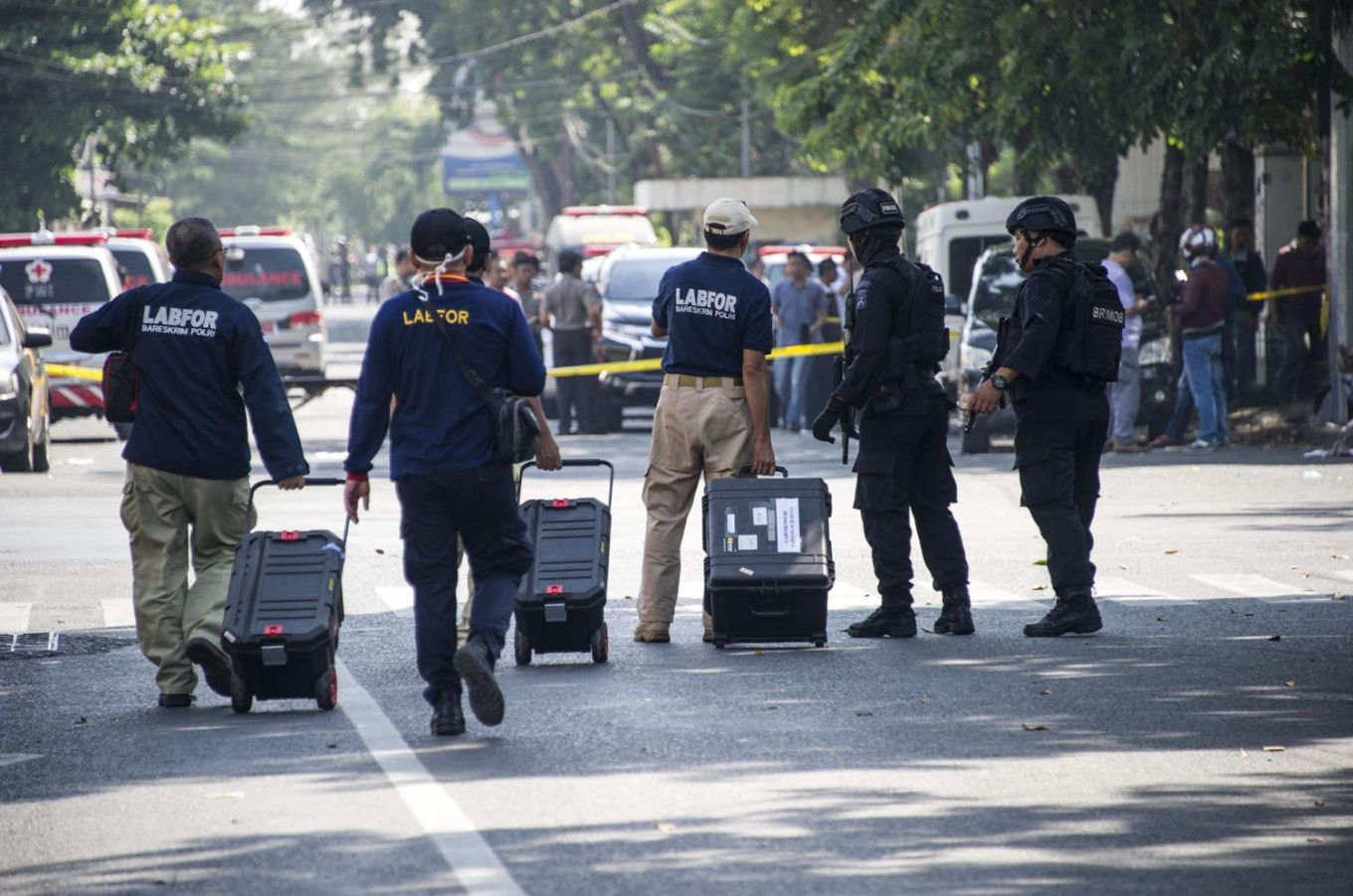 Police investigate 'IS' bomb threat at Pattimura University in Ambon