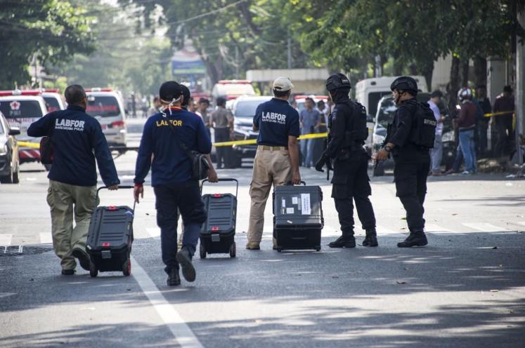 Explosion reported at Surabaya church