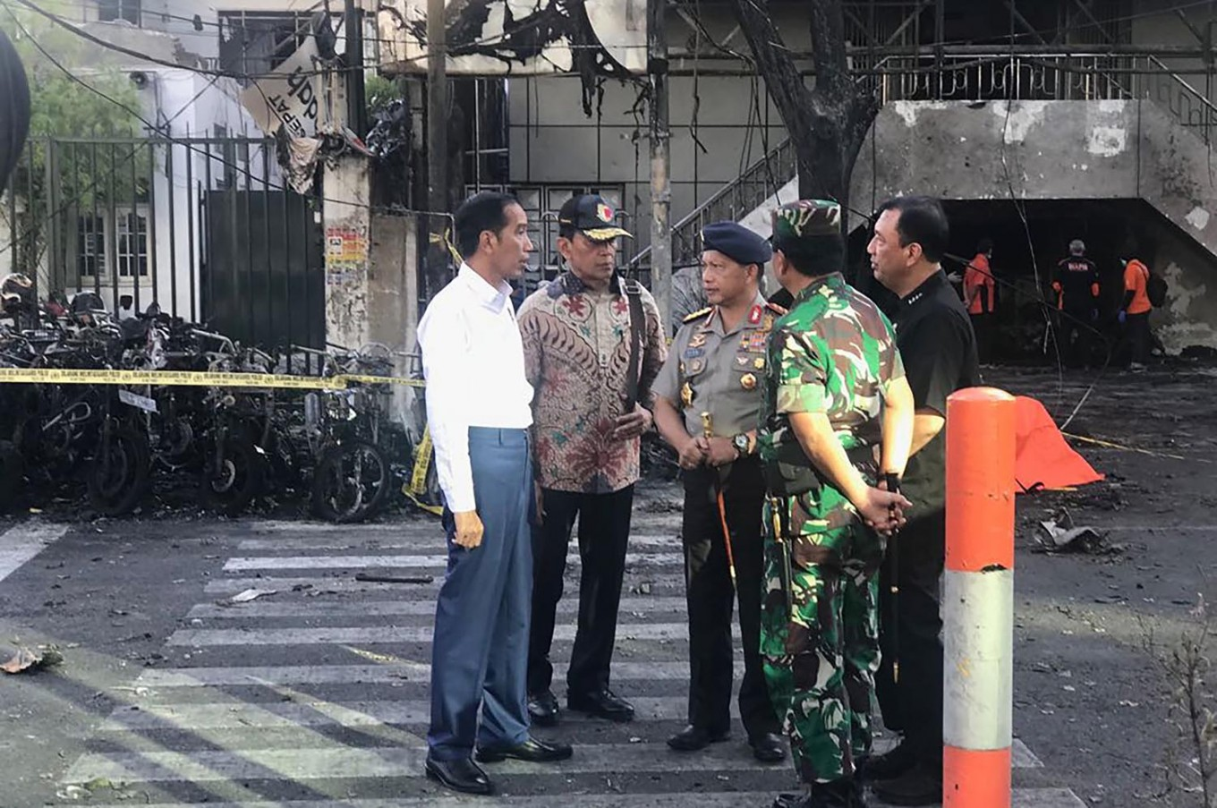 BREAKING: Another bomb explosion reported in Sidoarjo, East Java