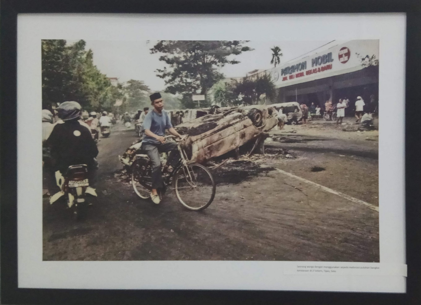 Surakarta after the riot.