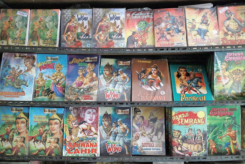 Herlina Markus: Last guardian of Bandung's legendary comic store