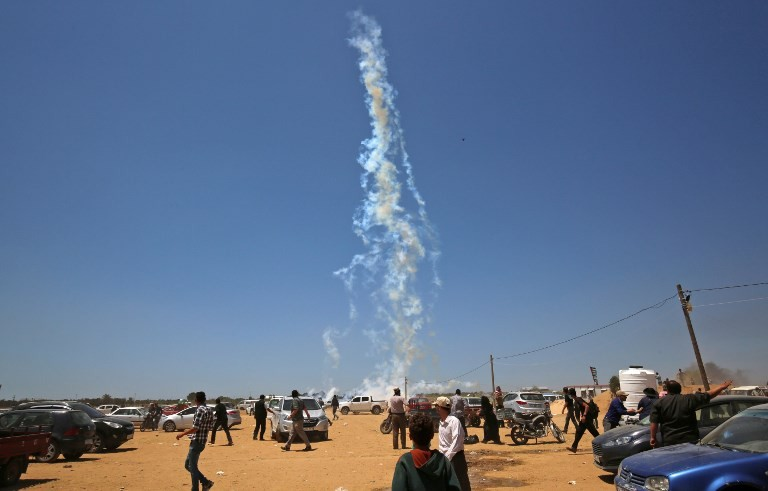 12 Palestinians killed by Israeli fire in Gaza border clashes: ministry