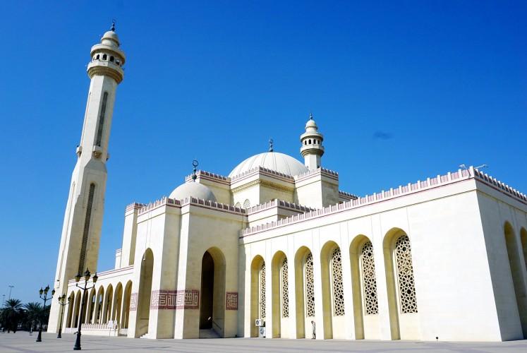 Al-Fateh Grand Mosque.