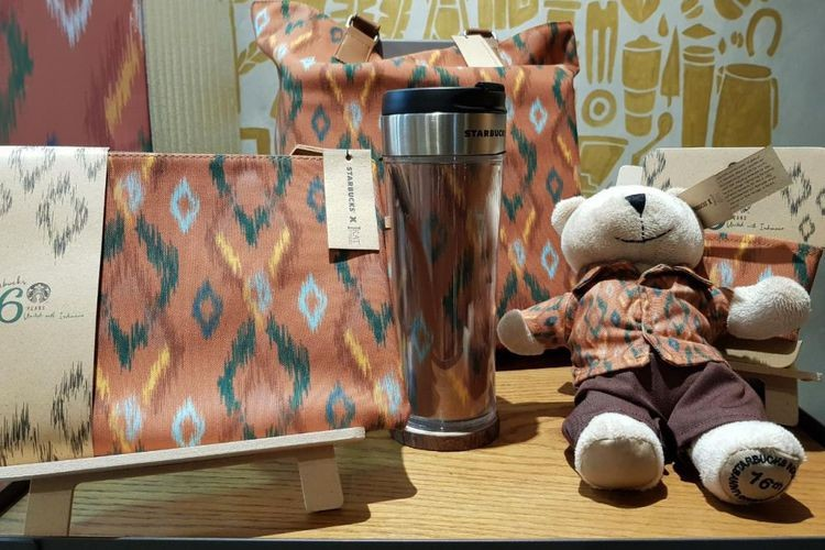 Starbucks collaborates with IKAT Indonesia on anniversary
