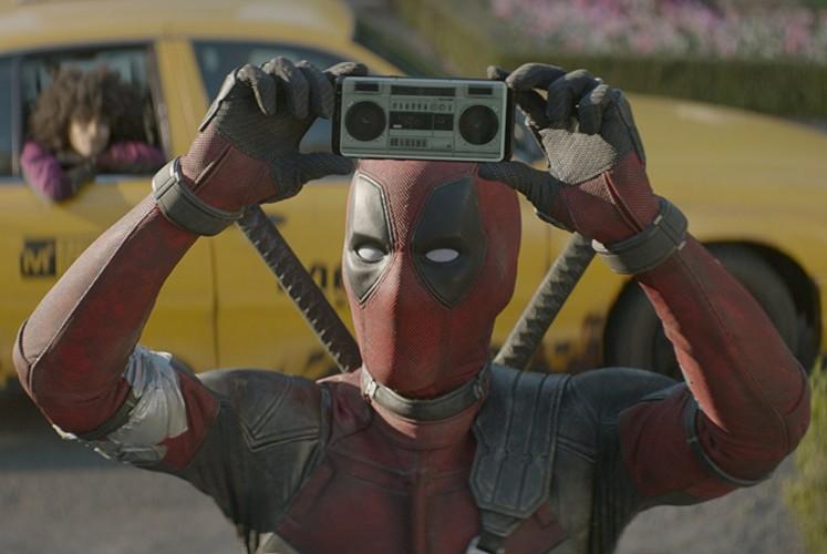Ryan Reynolds as Deadpool or Wade Wilson in 'Deadpool 2'.