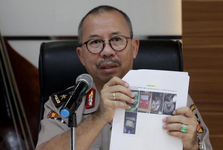 National Police spokesperson Insp. Gen. Setyo Wasisto.