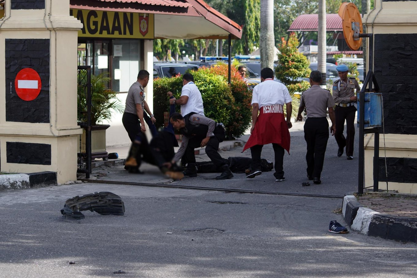 Riau Police attackers IS-supporters, but not JAD: Police