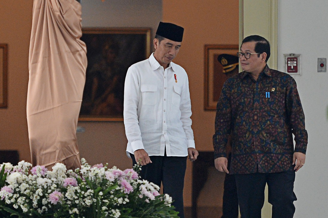 State Palace says Jokowi 'never even thought' of increasing presidential term limit