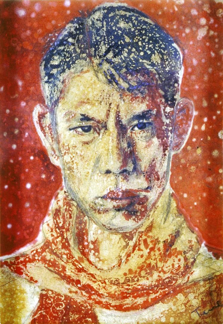 Chuah Thean Teng's Self-Portrait ( 1950s  )