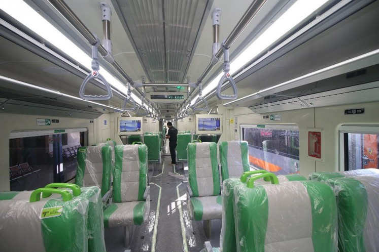 The interior of the KA Solo Express.