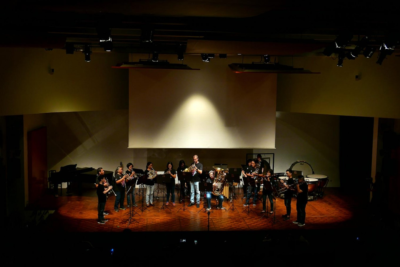 'We Got Rhythm' concert raises funds for Indonesian wind musicians