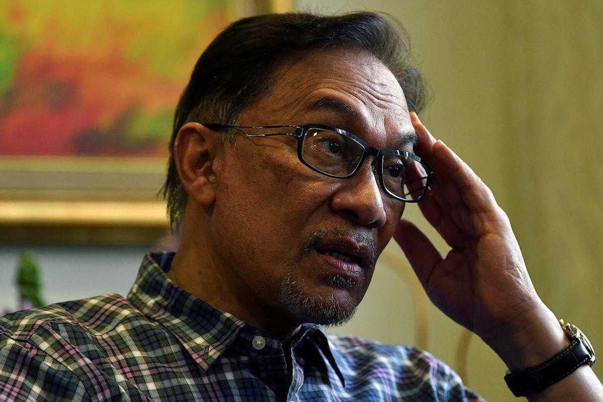 Anwar Ibrahim's Jakarta visit packed with media interviews