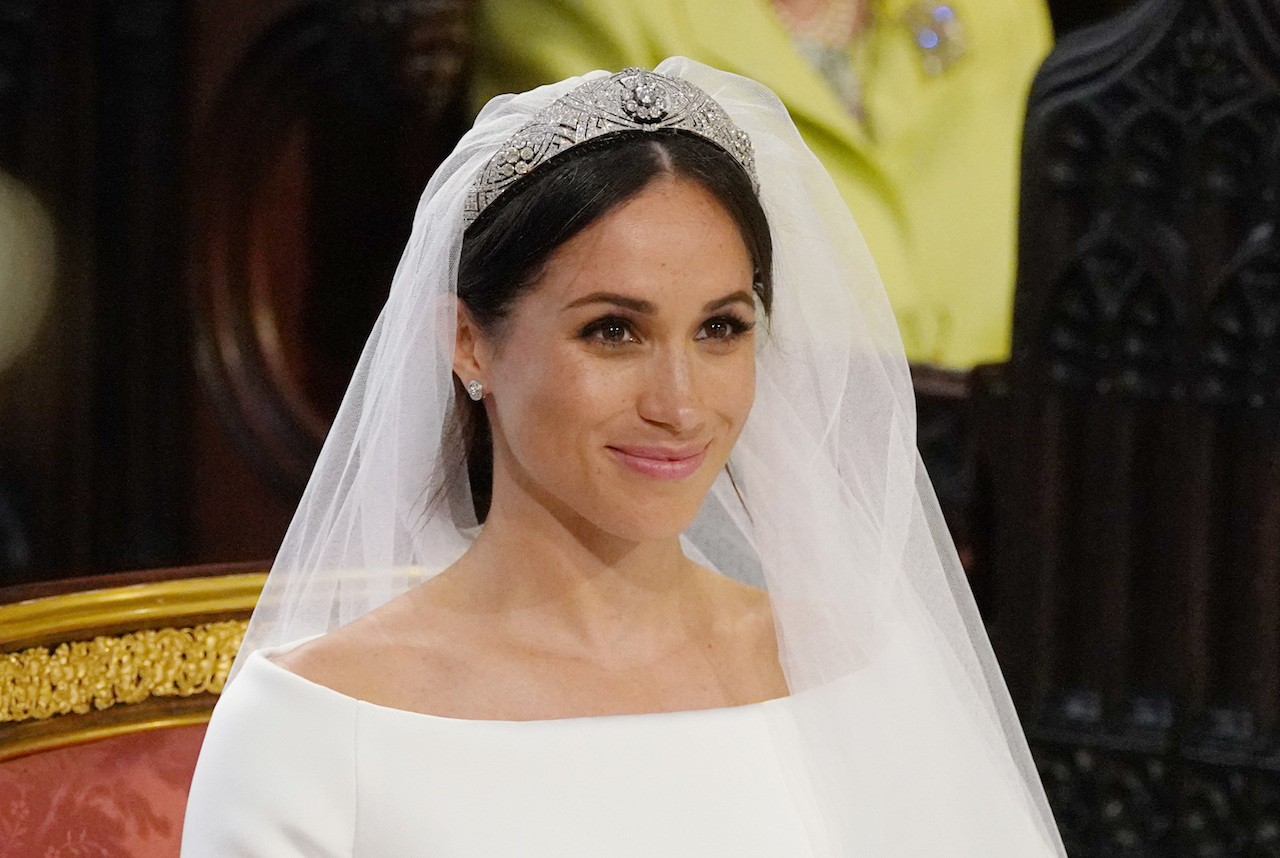 Sculpted simplicity: Givenchy designs Markle\'s wedding dress ...