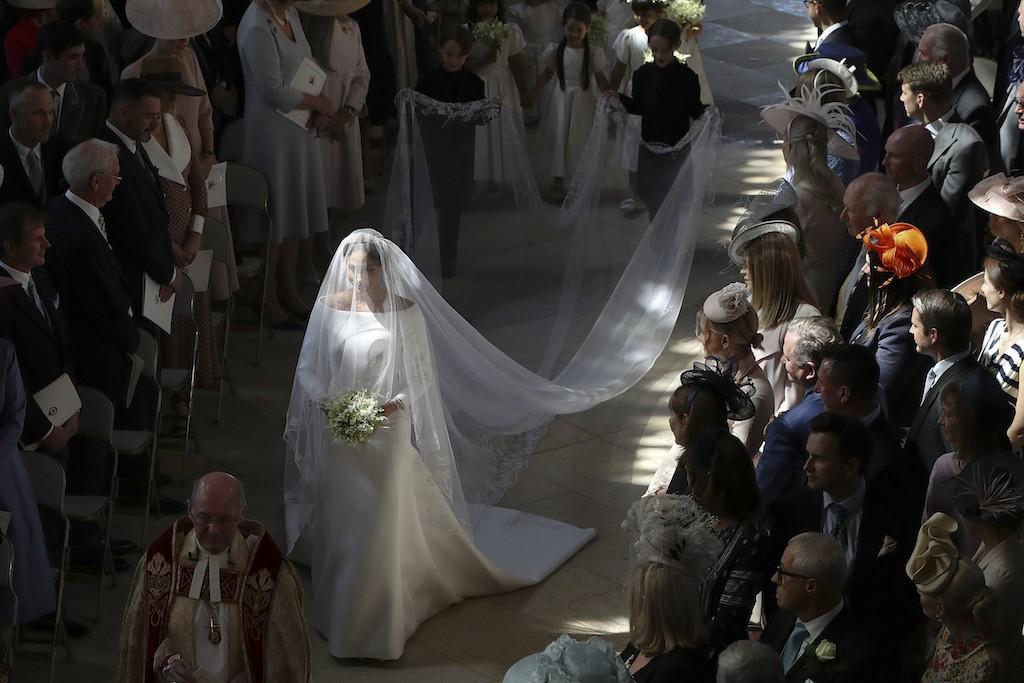 UK royal Meghan's wedding dress to go on display