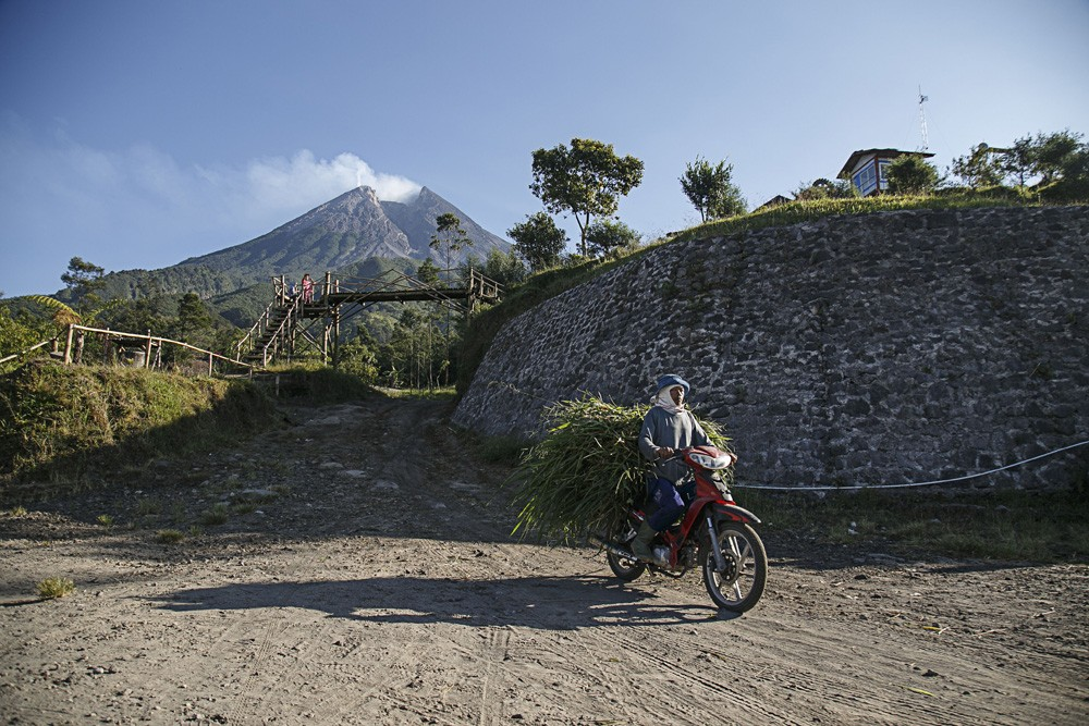 Mount Merapi's alert status raised to caution