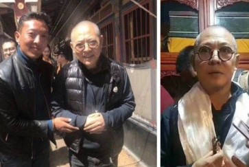 Is that Jet Li? Alleged photos of actor in Tibet fuel speculation about his poor health