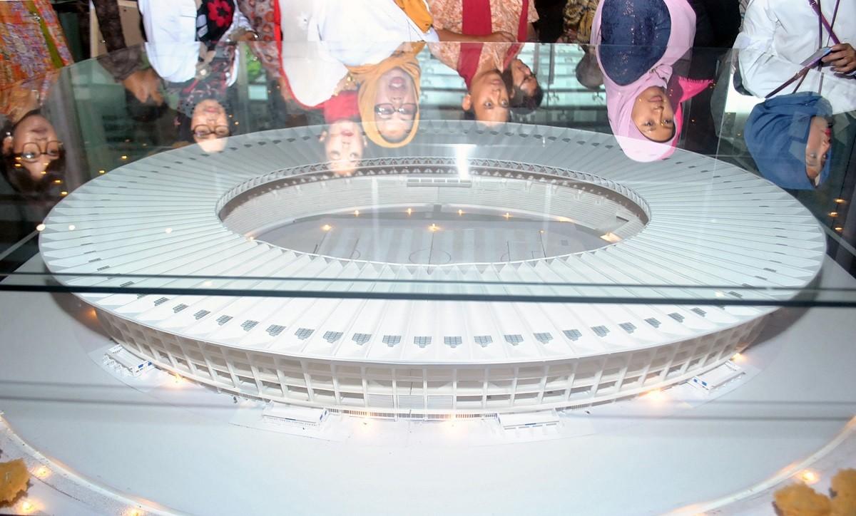 Bogor presidential museum displays Asian Games exhibition