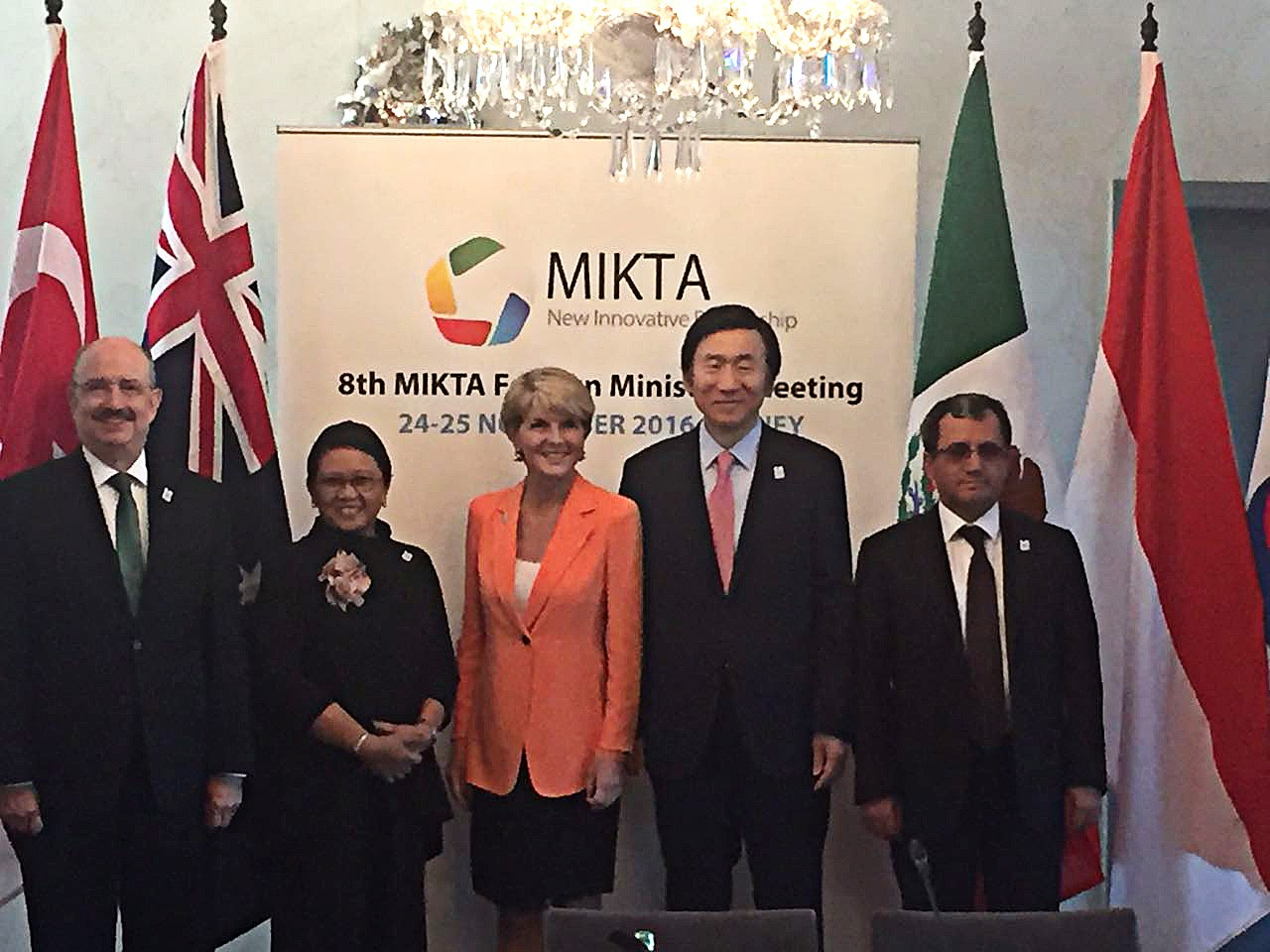 Retno promotes MIKTA cooperation in creative economy