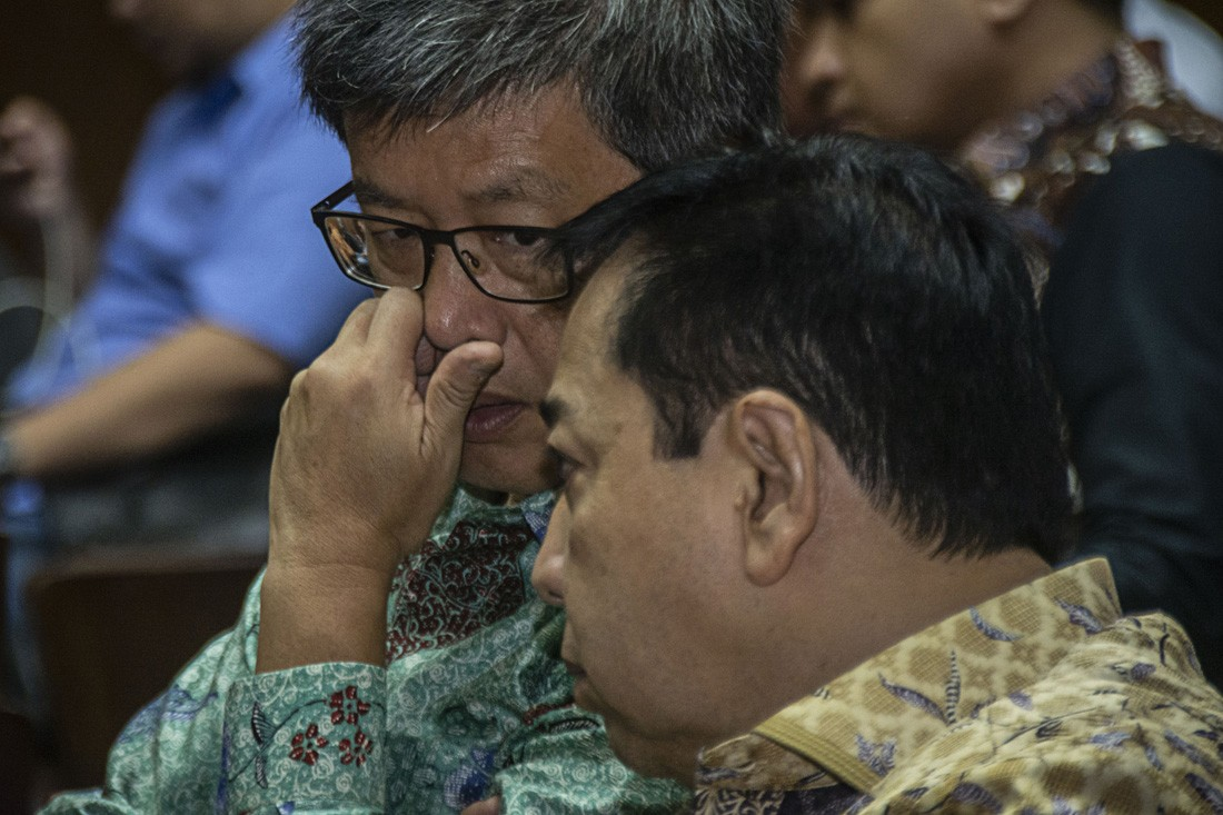 Setya names five Golkar politicians in e-ID trial
