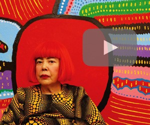 Yayoi Kusama's works finally arrive in Jakarta