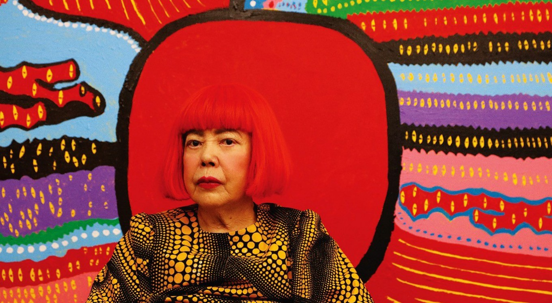 Yayoi Kusama's works finally arrive in Jakarta