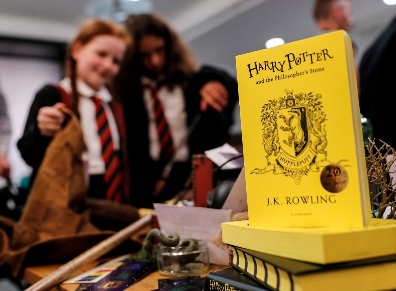 Harry Potter casts new spell over Bloomsbury book sales