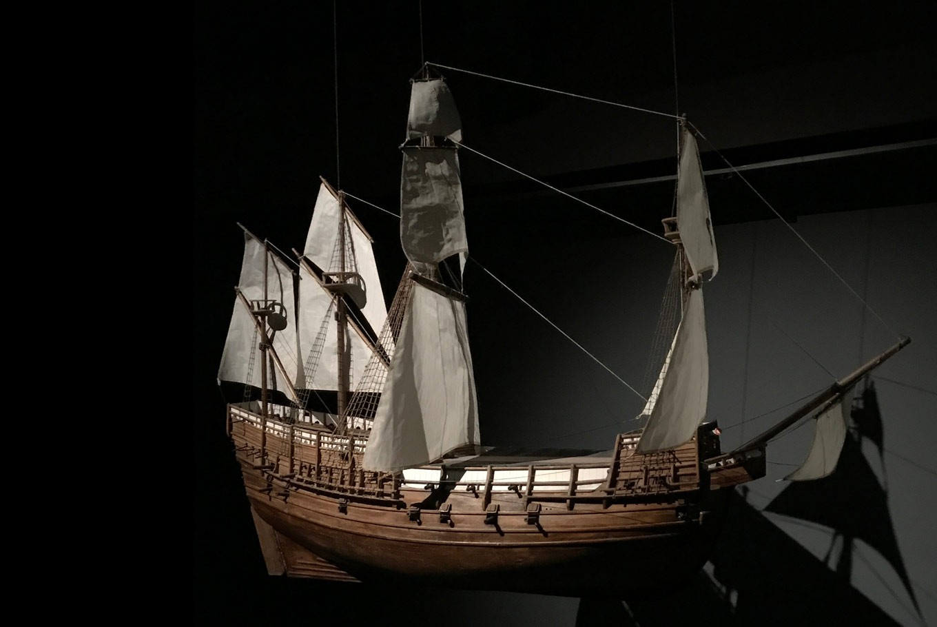 A model of HMS Mary Rose