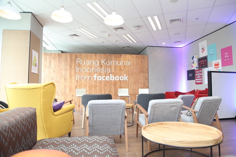 Facebook launches free community space in Jakarta