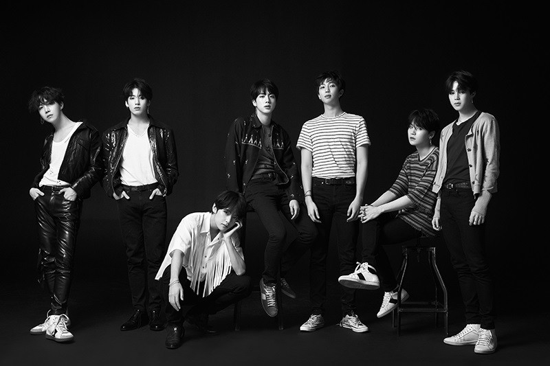 BTS says 'competition within group' is its driving force