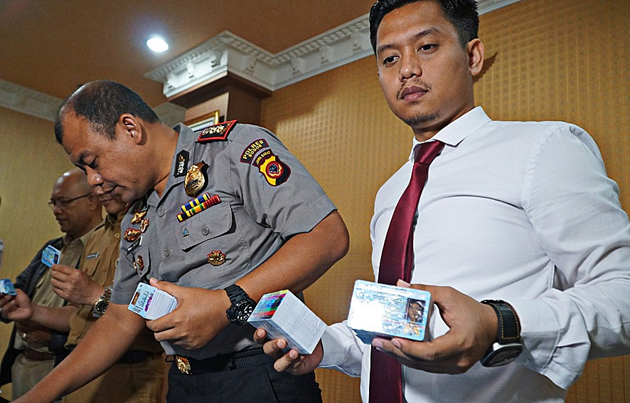 No criminal motive behind Bogor e-ID incident, police say