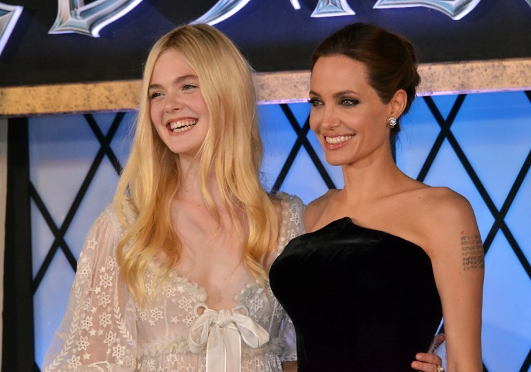 Fanning and Jolie reunite for Disney's 'Maleficent II'