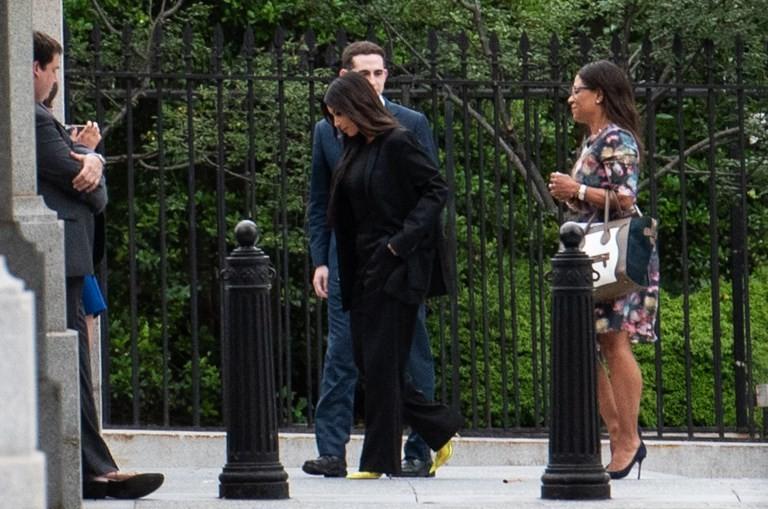 The other Kim summit: Trump keeps up Kardashian at White House meet