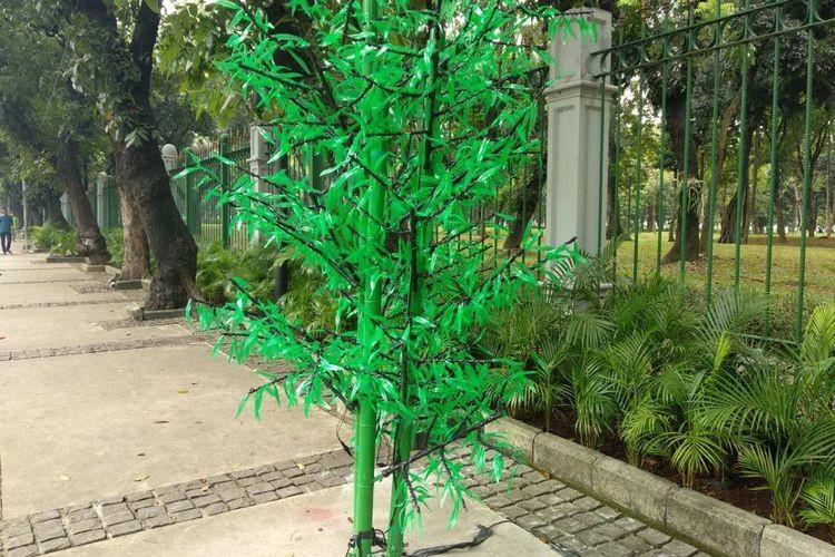 Sandiaga denies spending Rp 2 billion to procure artificial trees