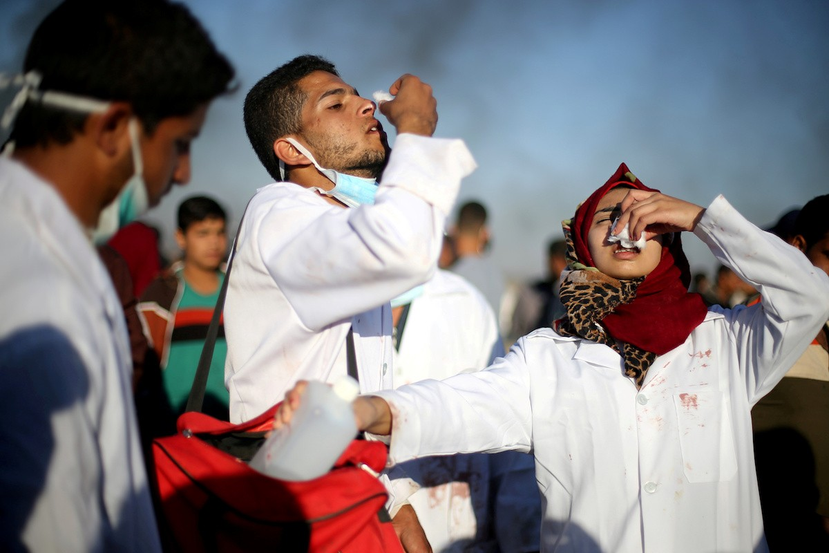 Israeli military says to probe killing of Gaza nurse