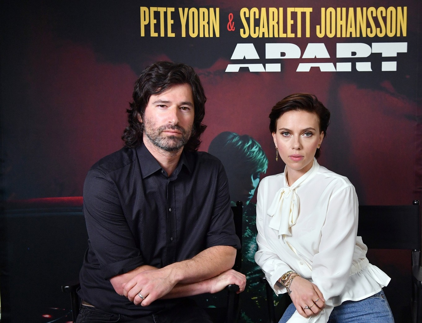 Johansson on 'no place to hide,' Time's Up and music