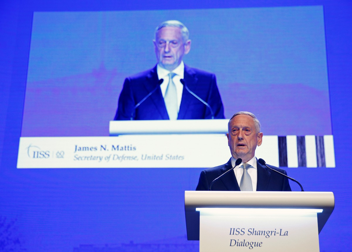 Mattis dismisses Iran's revenge threat as tensions climb after attack