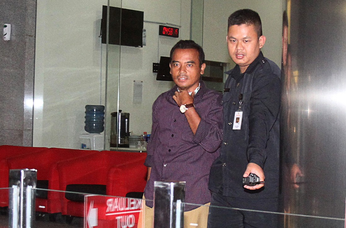 Purbalingga regent arrested over alleged graft