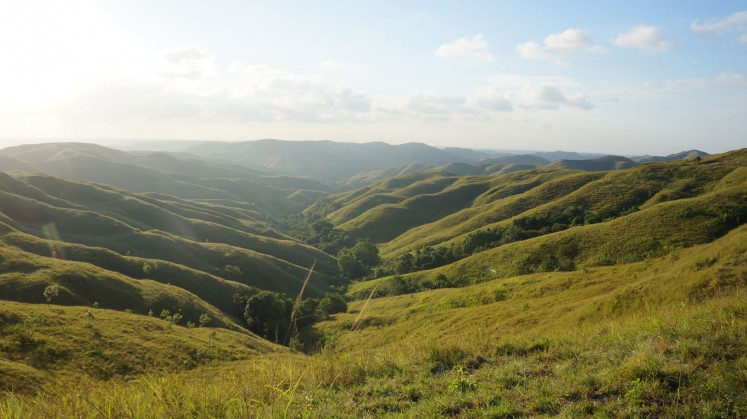 Wairinding Hills in East Sumba