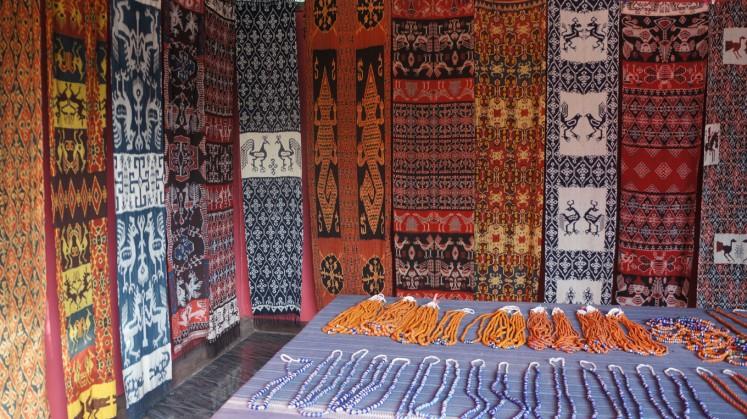 Rambu Chiko Artshop in Waingapu, East Sumba