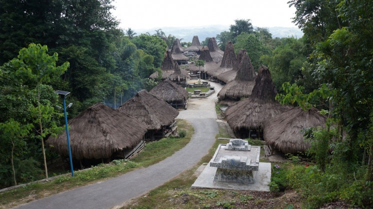 Prai Ijing customary village in West Sumba.