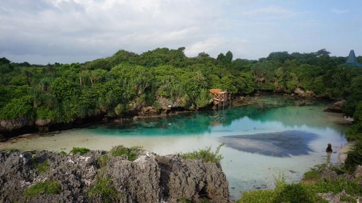 Weekuri Lagoon in Southwest Sumba.