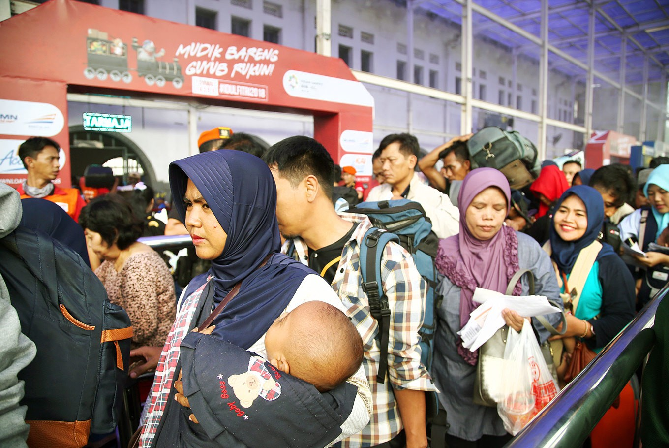 Train stations provide co-working spaces, more facilities for Idul Fitri travelers