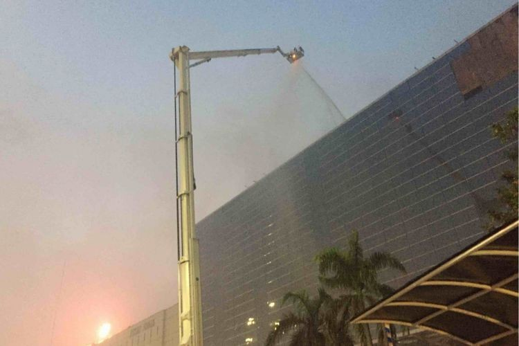 Jakarta Fair safe for visitors after fire, Anies says