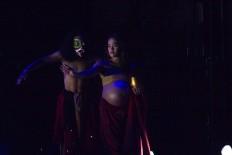 The Bali Jawi dance, choreographed by Angger Asmorotejo, is performed at the ArtJog in the Jogja National Museum in Yogyakarta, on Sunday, May 27, 2018. JP/Tarko Sudiarno