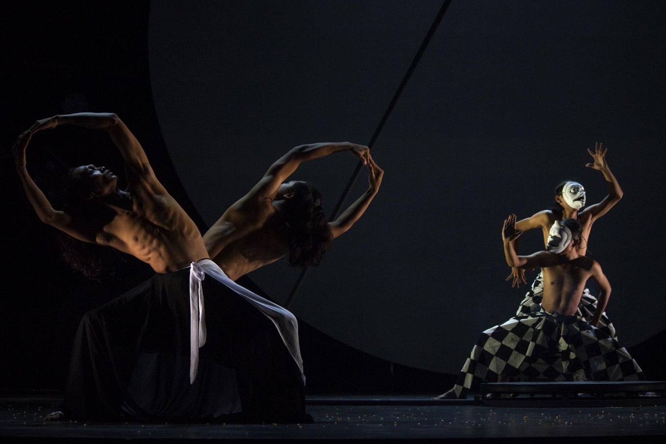 Dancers present Bali Jawi, which depicts the lives of humans. JP/Tarko Sudiarno